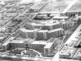 Vista Aérea Hospital Obrero de Lima EsSalud Primeros Años