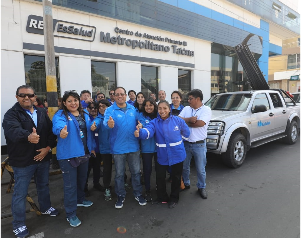 EsSalud Tacna participa en Caravana Multisectorial de Protección a la Familia Rural