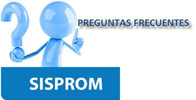 PREGUNTAS FRECUENTES SISPROM